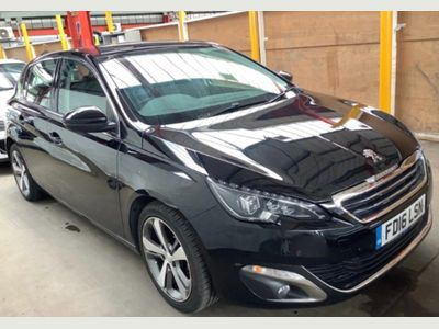Peugeot 308 Hatchback 1.6 BlueHDi Allure EAT6 (s/s) 5dr