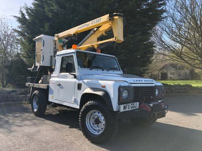 Land Rover Defender 110 Specialist Vehicle 2.4TDi NiftyLift 13.1 Cherry Picker