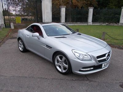 MERCEDES-BENZ SLK Convertible 1.8 SLK200 BlueEFFICIENCY 7G-Tronic Plus 2dr
