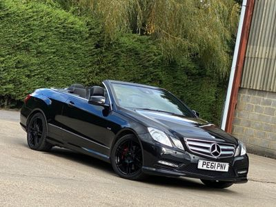 Mercedes-Benz E Class Convertible 3.5 E350 BlueEFFICIENCY Sport Edition 125 Cabriolet 7G-Tronic Plus (s/s) 2dr