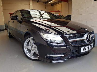 Mercedes-Benz CLS Coupe 3.0 CLS350 CDI BlueEFFICIENCY AMG Sport 7G-Tronic Plus 4dr
