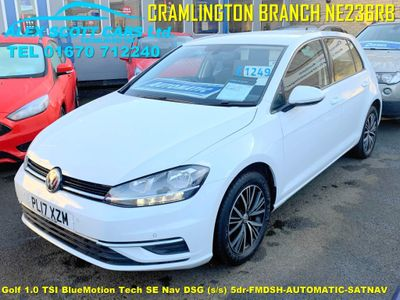 Volkswagen Golf Hatchback 1.0 TSI BlueMotion Tech SE Nav DSG (s/s) 5dr