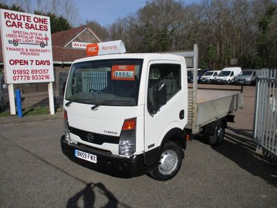 Nissan Cabstar Chassis Cab 2.5 dCi 34.11 Basic Chassis Cab 4dr (SWB)