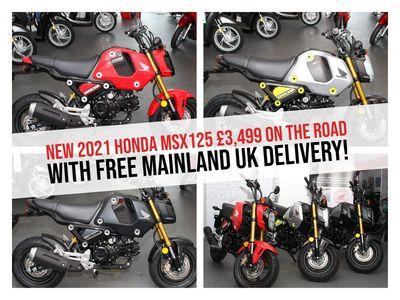 Honda MSX Naked 125 125 Grom ABS