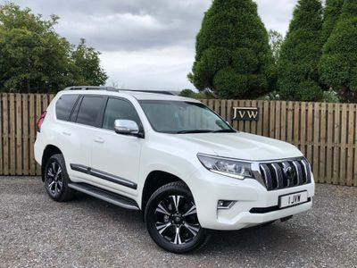 Toyota Land Cruiser SUV 2.8D Invincible Auto 4WD 5dr (7 Seat)