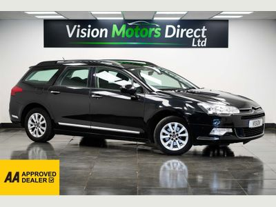 Citroen C5 Estate 1.6 HDi 16v VTR+ 5dr (Nav)