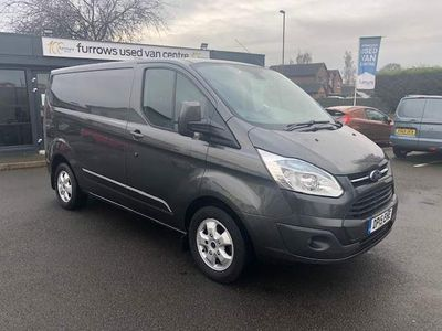 Ford Transit Custom Panel Van *NO VAT* LIMITED 270 L1 H1 2.2 TDCI FFSH