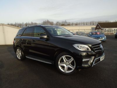 Mercedes-Benz M Class SUV 3.0 ML350 CDI BlueTEC AMG Sport 7G-Tronic Plus 5dr