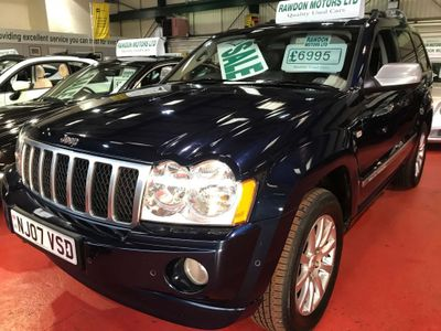 Jeep Grand Cherokee SUV 5.7 V8 Overland 4x4 5dr
