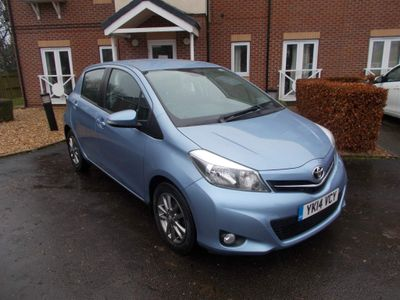 Toyota Yaris Hatchback 1.0 VVT-i Icon+ 5dr