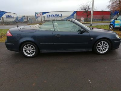 Saab 9-3 Convertible 2.0 T Linear Anniversary 2dr