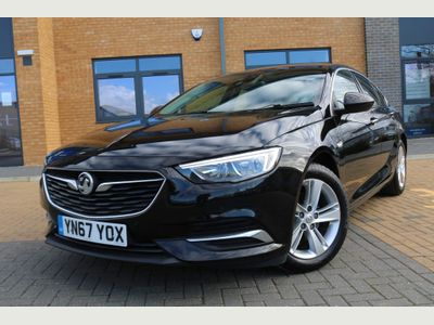 Vauxhall Insignia Hatchback 1.6 Turbo D ecoTEC BlueInjection Tech Line Nav Grand Sport (s/s) 5dr