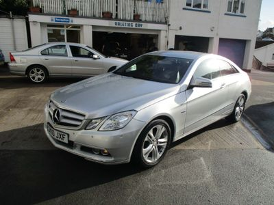 Mercedes-Benz E Class Coupe 2.1 E250 CDI BlueEFFICIENCY SE 2dr