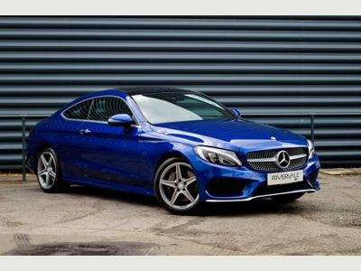 Mercedes-Benz C Class Coupe 2.0 C200 AMG Line (Premium Plus) 7G-Tronic+ (s/s) 2dr