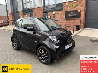 Smart fortwo Coupe 0.9T Prime (Premium) Twinamic (s/s) 2dr