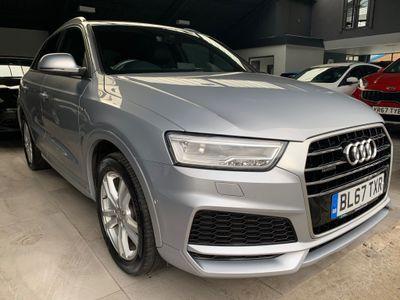 Audi Q3 SUV 2.0 TDI S line Edition S Tronic quattro (s/s) 5dr
