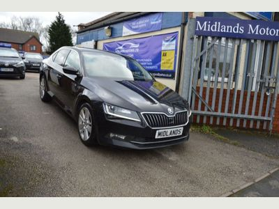 SKODA Superb Hatchback 2.0 TDI CR DPF SE L Executive DSG Auto 6Spd (s/s) 5dr