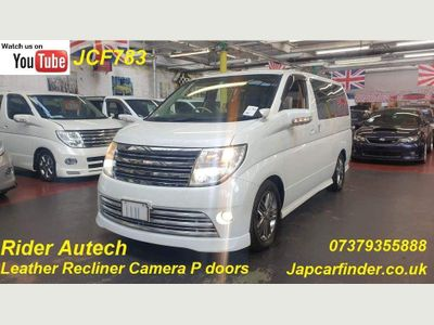 Nissan Elgrand MPV Rider Autech Leather Recliner P doors