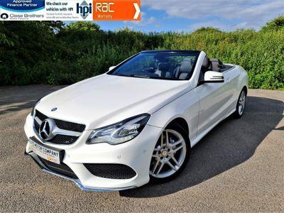 Mercedes-Benz E Class Convertible 2.1 E250 CDI AMG Sport Cabriolet 7G-Tronic Plus 2dr