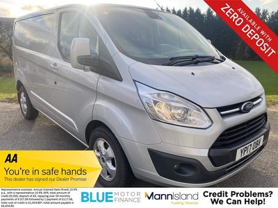Ford Transit Custom Panel Van 2.0 TDCi 270 Limited L1 H2 5dr