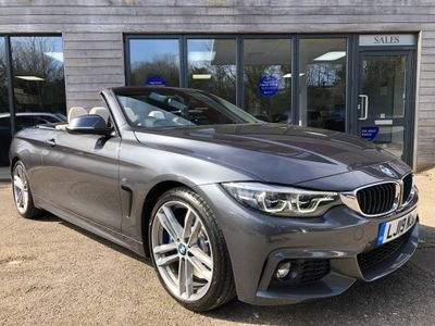 BMW 4 Series Convertible 2.0 430i GPF M Sport Auto (s/s) 2dr
