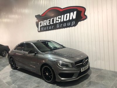 Mercedes-Benz CLA Class Coupe 2.1 CLA200 CDI AMG Sport 7G-DCT (s/s) 4dr