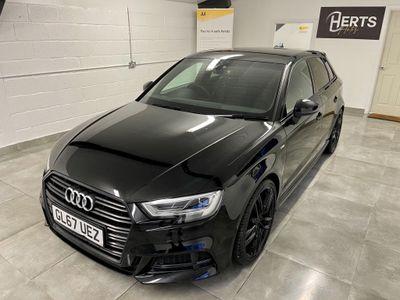 Audi A3 Hatchback 1.5 TFSI CoD Black Edition Sportback S Tronic (s/s) 5dr