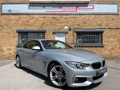 BMW 4 Series Convertible 2.0 428i M Sport 2dr