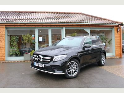 Mercedes-Benz GLC Class SUV 2.1 GLC220d AMG Line G-Tronic+ 4MATIC (s/s) 5dr