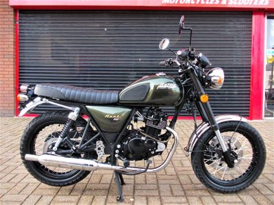 Bullit Motorcycles Hunt Naked 125 125 S
