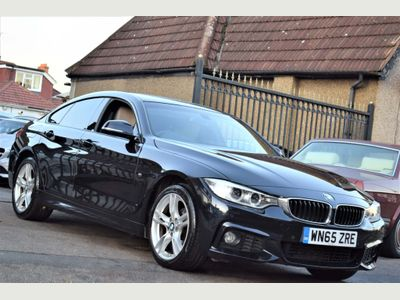 BMW 4 Series Gran Coupe Coupe 2.0 420i M Sport Gran Coupe xDrive 5dr