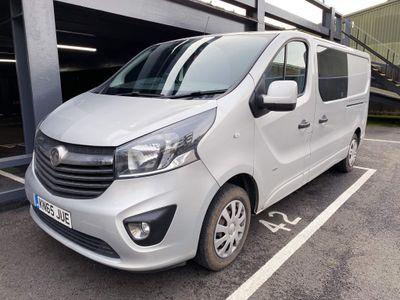 Vauxhall Vivaro Other 1.6 CDTi 2900 BiTurbo ecoFLEX Sportive Crew Van L2 H1 EU5 (s/s) 5dr (6 Seat)