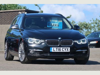 BMW 3 Series Estate 2.0 320i Luxury Touring Auto (s/s) 5dr