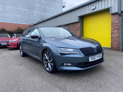 SKODA Superb Estate 2.0 TDI SportLine (s/s) 5dr