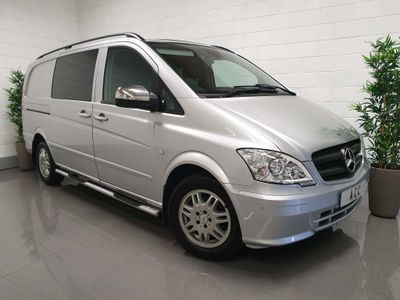 Mercedes-Benz Vito Other 2.1 CDI Dualiner Long Panel Van 5dr (5 Seats)