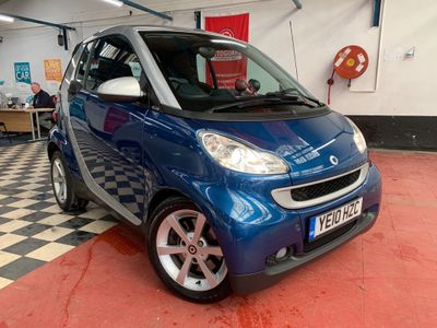 Smart fortwo Convertible 1.0 MHD Pulse Cabriolet 2dr