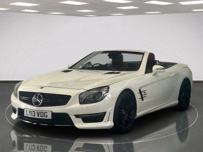 Mercedes-Benz SL Class Convertible 5.5 SL63 AMG 2dr