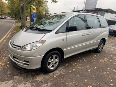 TOYOTA PREVIA MPV 2.4 GLS 5dr (7 Seats, leather)