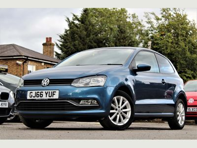 VOLKSWAGEN POLO Hatchback 1.0 TSI BlueMotion Tech Match (s/s) 3dr