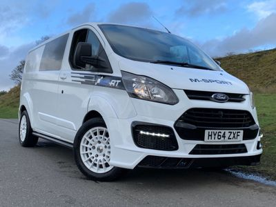 Ford Transit Custom Panel Van Sport 2.2 TDCi wide arch Bodykit Evm