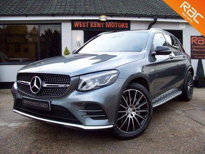 Mercedes-Benz GLC Class SUV 3.0 GLC43 V6 AMG (Premium) G-Tronic 4MATIC (s/s) 5dr