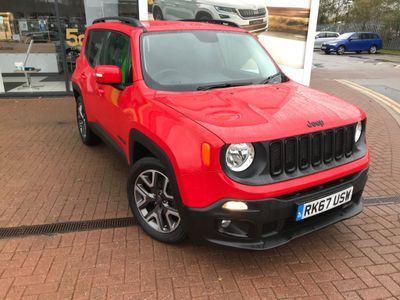 Jeep Renegade SUV 1.6 MultiJetII Night Eagle II (s/s) 5dr