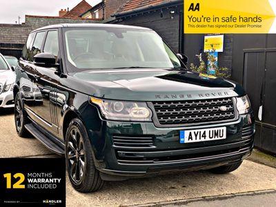 Land Rover Range Rover SUV 4.4 SD V8 Vogue Auto 4WD 5dr