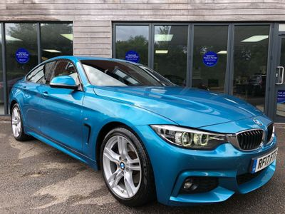 BMW 4 Series Gran Coupe Coupe 3.0 430d M Sport Gran Coupe Sport Auto (s/s) 5dr