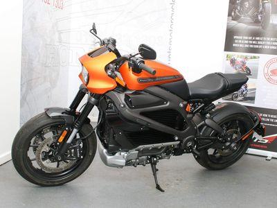 Harley-Davidson Livewire Naked Orange Fuse