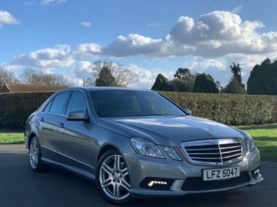 Mercedes-Benz E Class Saloon E250 CDI BlueEFFICIENCY Sport 4dr