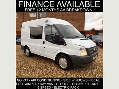 Ford Transit Window Van 2.2 tdci 6 sp 300 hi roof window van