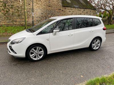 Vauxhall Zafira Tourer MPV 1.4 i 16v Turbo SRi 5dr