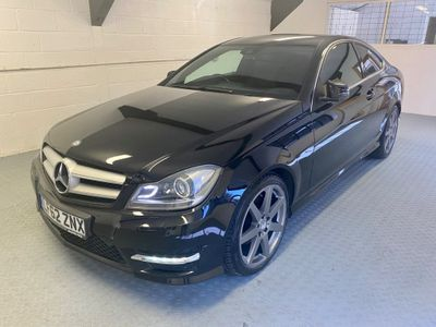 Mercedes-Benz C Class Coupe 1.6 C180 BlueEFFICIENCY AMG Sport Sport Coupe 2dr