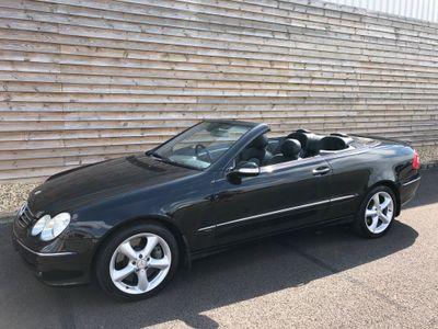 Mercedes-Benz CLK Convertible 5.0 CLK500 Avantgarde Cabriolet 2dr